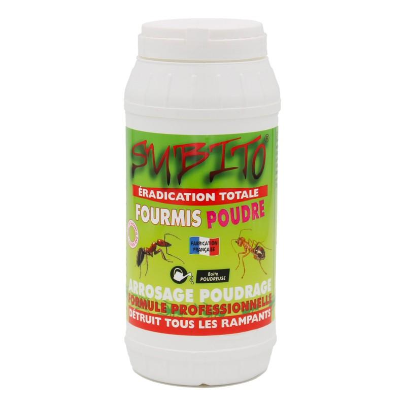 Subito - Poudreuse insecticide éradication totale spéciale Fourmis 200g | Insecticide Antinuisible