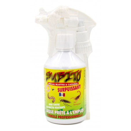Subito - Laque insecticide spécial Blattes et Cafards - 500 ml | Insecticide Antinuisible
