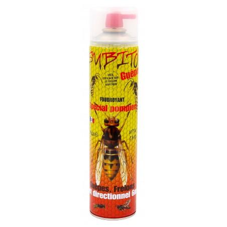 Subito - Aérosol foudroyant Guêpes et Frelons spécial pompier 6 mètres | Insecticide Antinuisible