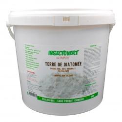 Terre de Diatomée poudre fine 100% naturelle polyvalente 5 kg - Subito | Insecticide Antinuisible Qualité Professionnelle