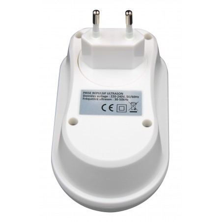 Répulsif ultrasons intérieur couvre jusqu'à 100 m2 - Subito | Insecticide Antinuisible Professionnel