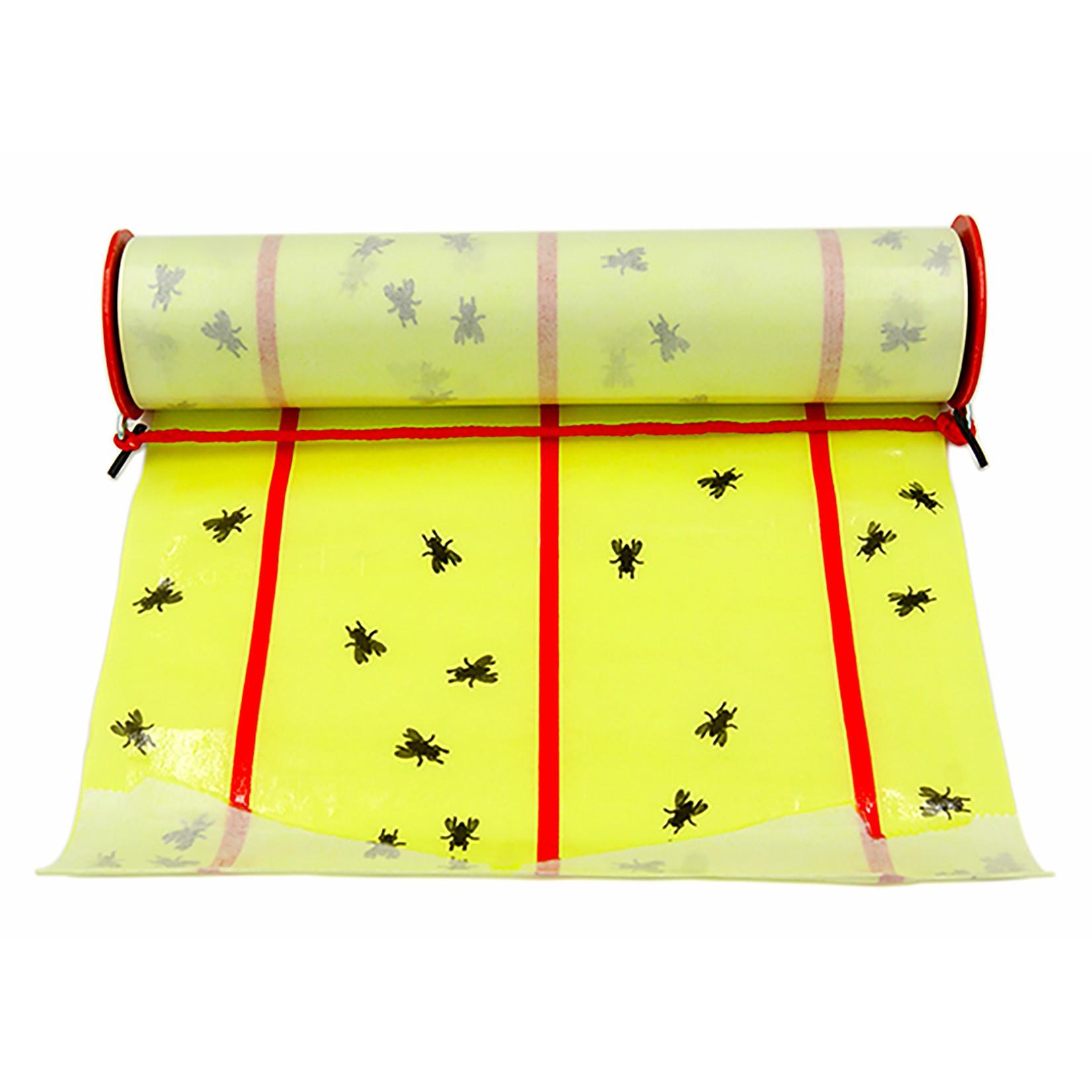 Gros rouleaux spécial anti-mouches autocollants 9 mètres x 26cm Subito | Insecticide Antinuisible Qualité Professionnelle