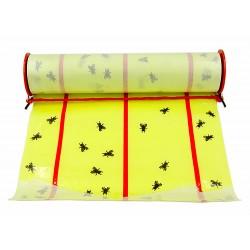 Gros rouleaux spécial anti-mouches autocollants 9 mètres x 26cm Subito   Insecticide Antinuisible Qualité Professionnelle