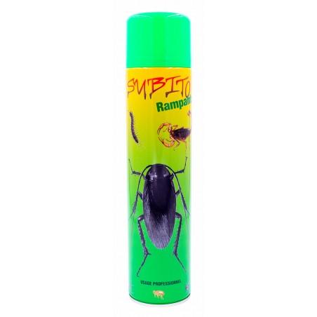 Aérosol ménager spécial anti-insectes rampants 600 ml de Subito | Insecticide Antinuisible Qualité Professionnelle