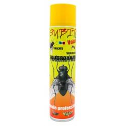 Aérosol insecticide spécial anti-insectes volants 600 ml de Subito | Insecticide Antinuisible Qualité Professionnelle