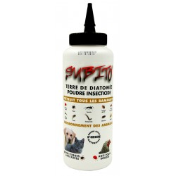 Terre de diatomée poudre insecticide détruit tous les rampants 1L de Subito | Insecticide Antinuisible Qualité Professionnelle