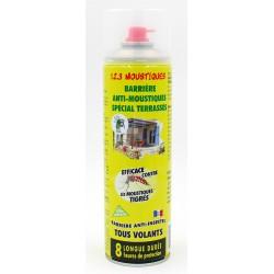 Barrière anti-moustiques spécial terrasses et tous volants 500ml Subito | Insecticide Antinuisible Qualité Professionnelle