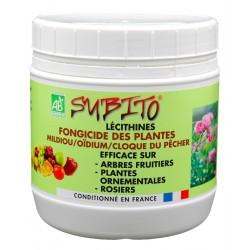 Lécithines fongicide des plantes Mildiou Oïdium Cloque du pêcher Subito | Insecticide Antinuisible Qualité Professionnelle