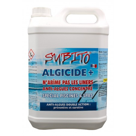 Algicide+ Anti-algues concentré spécial Piscines et Spas de Subito | Insecticide Antinuisible Qualité Professionnelle