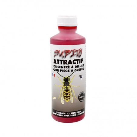 Attractif concentré à diluer pour piège à Guêpes 500 ml de Subito | Insecticide Antinuisible Qualité Professionnelle