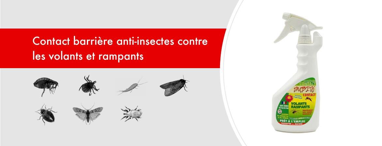 Contact barrière anti-insectes volants et rampants de Subito