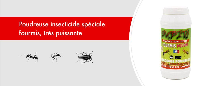 Poudreuse insecticide spéciale Fourmis 200 gr de Subito