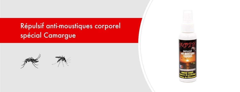 Répulsif anti-moustiques corporel spécial Camargue 100 ml de Subito